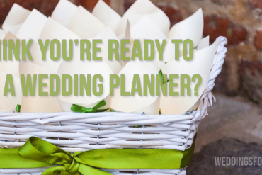 Ready to be a Wedding Planner?