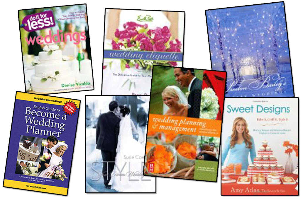 LIVE! #340 – 7 Indispensable Wedding Planner Books