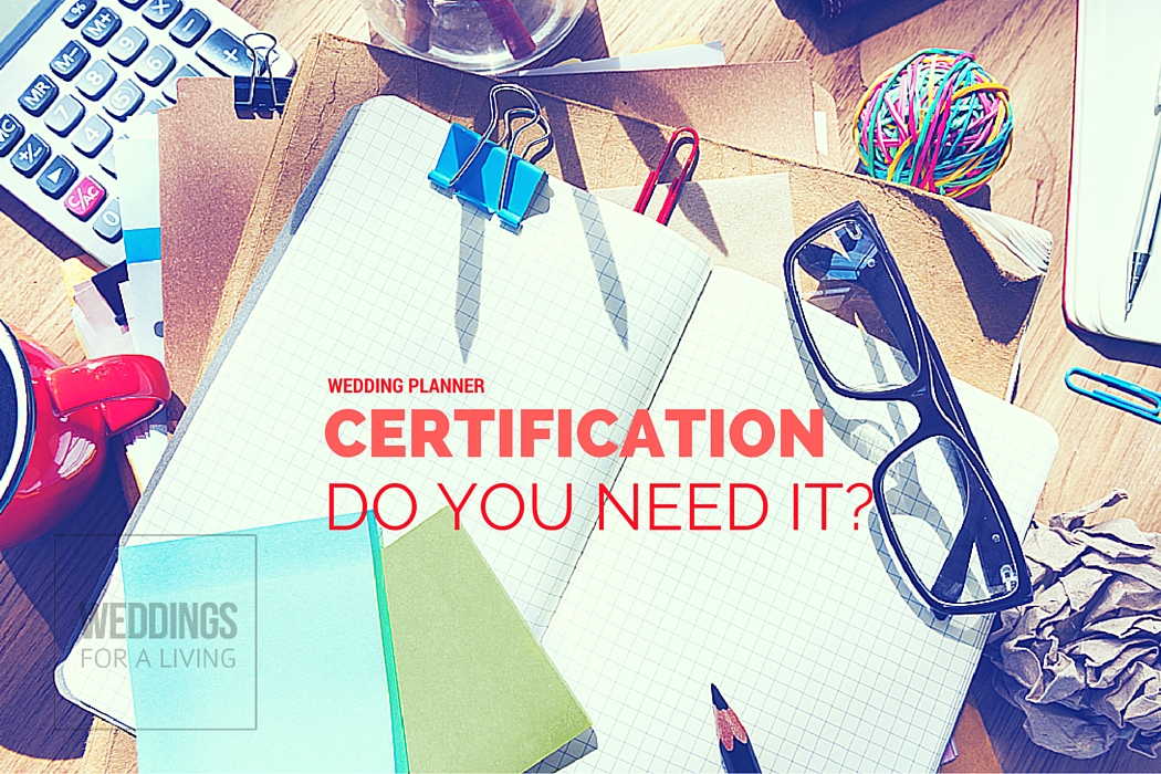 Wedding Planner Certification