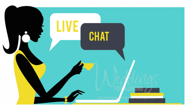 Live Wedding Planner Chat