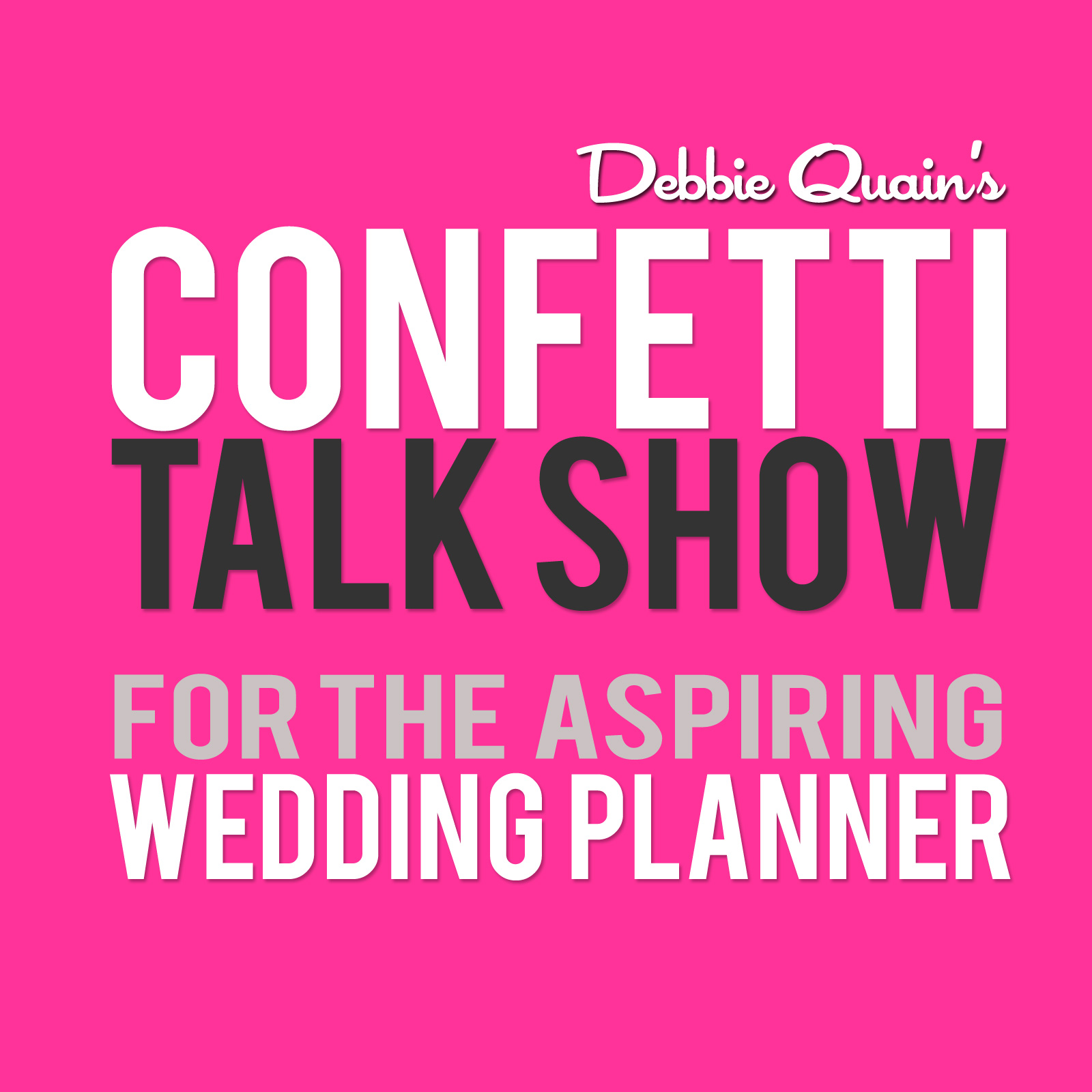 Confetti Talk Show for Wedding Planners