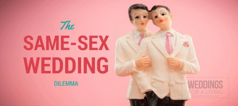 Same sex wedding topper
