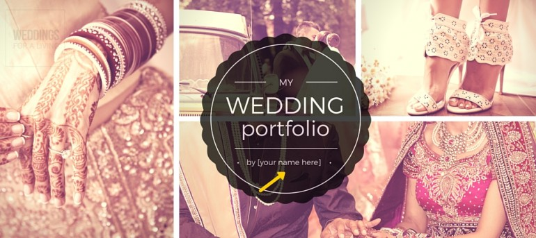 Wedding Planner Portfolio with images