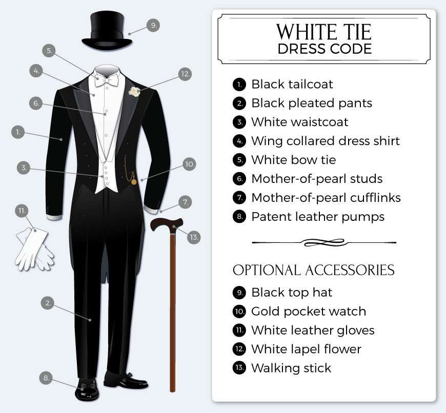 What is white tie