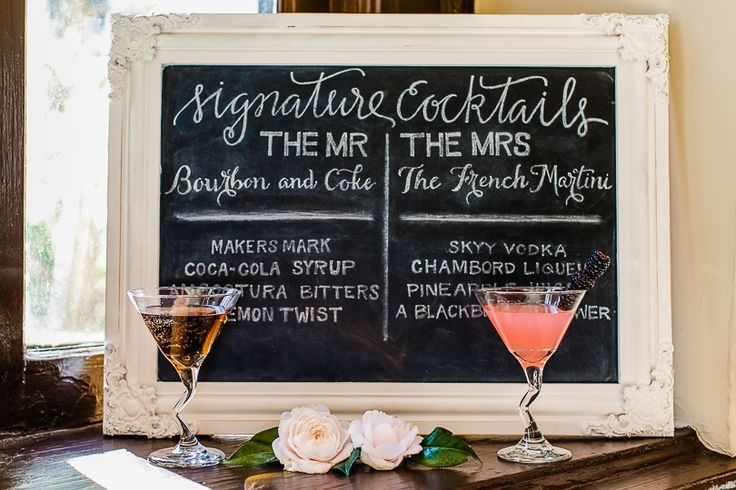 what is a signature cocktail