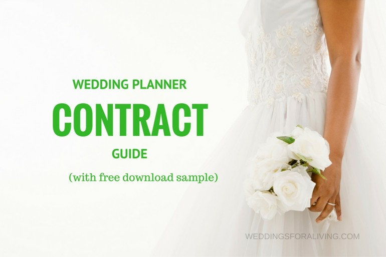 Wedding Planner Contract Guide