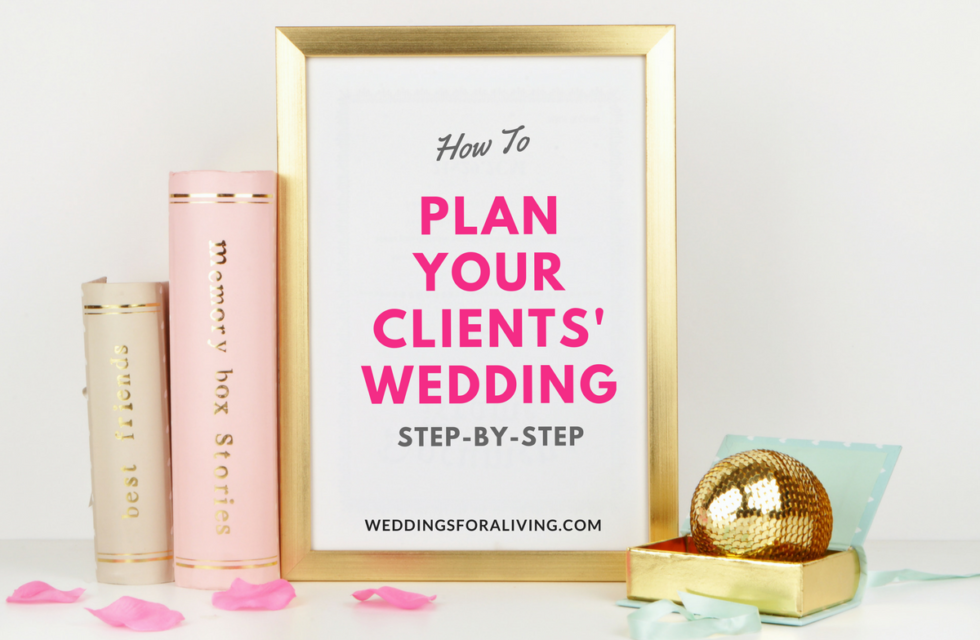 how to plan a wedding in 25 steps