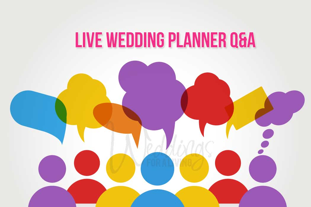 LIVE! Wedding Planner Chat & FAQs – WFAL367