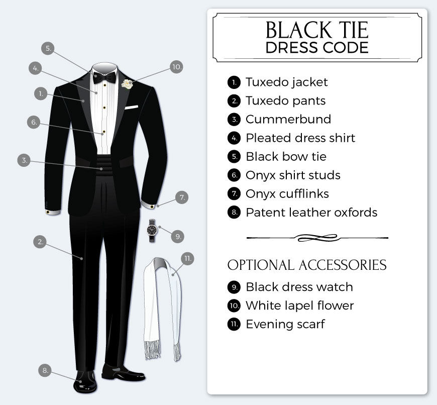 what does black tie definition of black tie by