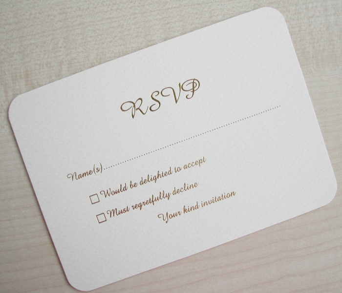 Definition Of RSVP By Weddings For