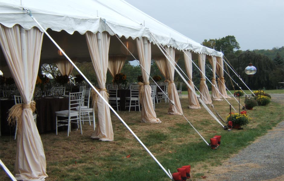 Pole Tent & What does Pole Tent mean? | Definition of Pole Tent by Weddings for ...